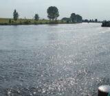 Fluss Waal zwischen Heusden-Gorinchem