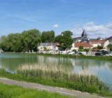 Frankreich Champagne Epernay Marne Fluss