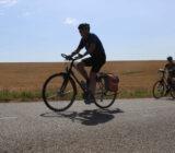 Frankreich Champagne Radfahren