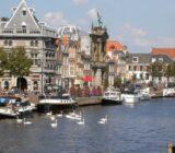 Haarlem De Waag und da Teyler Museum