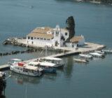 Ionische Inseln Korfu Vlaherna Kloster