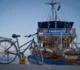 Ionische Inseln Rad und Schiff
