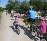 Ionische Inseln Radfahrer