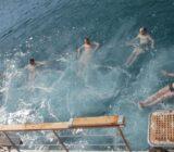 Ionische Inseln schwimmen
