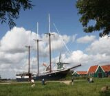 Mare fan Fryslân moored Zaanse Schans