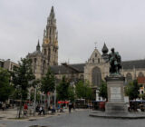 Antwerp Rubens and cathedral