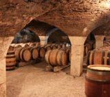 Frankreich Burgunde Weinkeller
